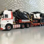 Jordan Road Surfacing Volvo Low Loader Model